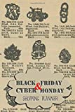 Black Friday & Cyber Monday Shopping Planner: Vintage Gold jewelry Mail Order Catalogue Cover (Shopping Planners, Band 3)