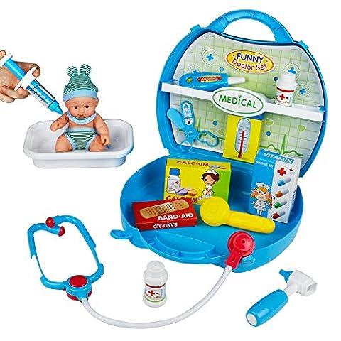 Doctors Kit, Medical Kit Box, Doctor Set for Kids, Doctor