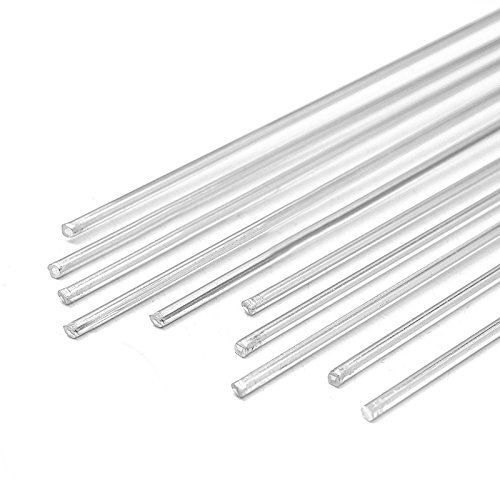10pcs Schweißdraht Niedriger Temperatur Metall Magnesium Silber 1,6 x 450mm