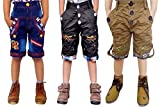 #6: AD & AV Pack of 3 Shorts_Denim_RED_Black