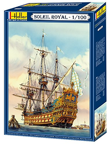 heller-80899-construction-et-maquettes-soleil-royal-echelle-1-100eme