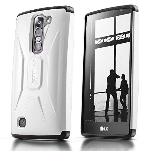 evocel® LG Volt 2(LS751) Fall [x-generation Serie] Slim Fit Dual Layer Design Hybrid Armor Displayschutzfolie Fall - (Lg Volt Displayschutzfolien)