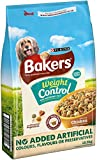 PURINA BAKERS Adult Weight Control Chicken, Rice and Vegetable Dry Dog Food, 12.5 kg