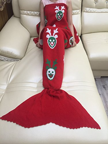 COLLECTOER Red Deer sirena coperta coperte, maglia
