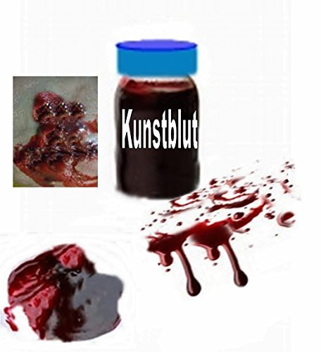 100ml Kunstblut Theaterblut Blut Filmblut Monstercolours