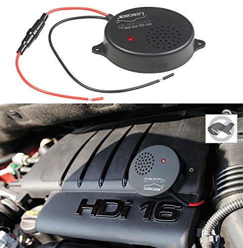 Lescars Marderschreck für Autos: Kfz-Ultraschall-Marderabwehr für 12-V-Anschluss, 17-29 kHz, 118 dB (Marder Abwehrgeräte)