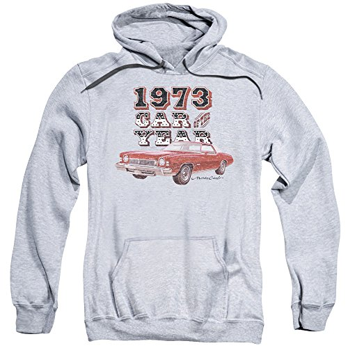 Chevrolet -  Felpa con cappuccio  - Uomo Athletic Heather