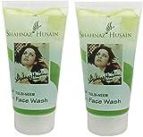 Shahnaz Husain Tulsi-Neem Face Wash 150Gm (Pack of 2) Amazon