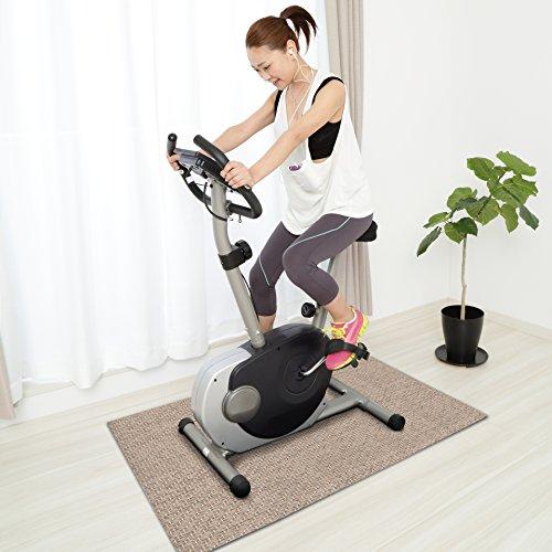 Design Bodenschutzmatte VERONA   Unterlegmatte für Fitnessgeräte   zuverlässiger Bodenschutz   90x200cm