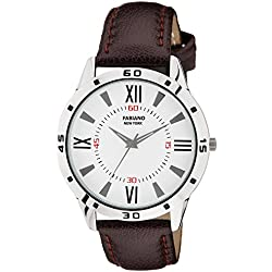 Fabiano New York Royal Brown Analog Mens & Boys Wrist Watch