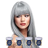 4 x La Riche Directions Semi-Perm Hair Colour Silver (ALL COLOURS Avail) 4x 88ml...