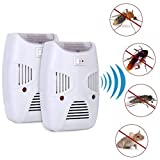 #9: Density Collection Electronic Pest Repellent Plug in Indoor Pest Control Ultrasonic Fly and Spider Repellent for Mice,Rat,Mosquito,Roach,Ant,Bug, Rodent-No Trap,Sprayer&Baits