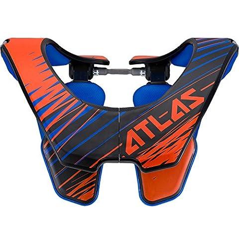 ATLAS AIR Brace Nackenschutz - orange Tornado: Größe Nackenschutz: L