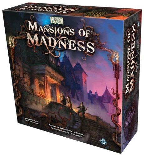 Fantasy Flight Games - Mansiones de la Locura, Juego de Mesa [ Importado ]