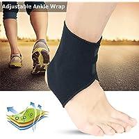 Fußsocken Fuß Wrap Schwarz Einstellbare Knöchel Unterstützung Knöchel Stabilisator Fußpackung für Ballspiele/Laufruhe... preisvergleich bei billige-tabletten.eu