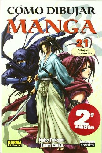CÓMO DIBUJAR MANGA 21. NINJAS Y SAMURÁIS (BIBLIOTECA CREATIVA) por Naho Fukagai