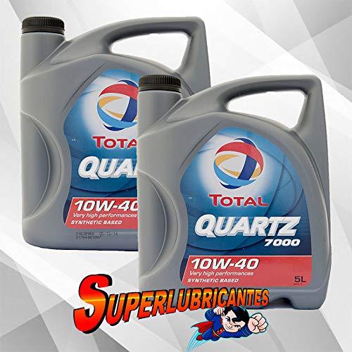 Mundocoche Total Quartz 7000 10W40 A3-B4 2x5L10Litros