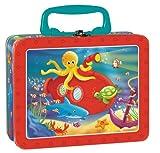 Lunchbox Metallkoffer Bunte Unterwasserwelt