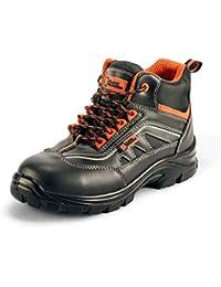 Black Hammer Chaussure de Sécurité S3 SRC Composite Protection Non métallique sans métal Hommes Bottes Chaussures de Travail et randonnée 8852