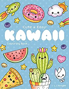 Cute and Easy Kawaii Colouring