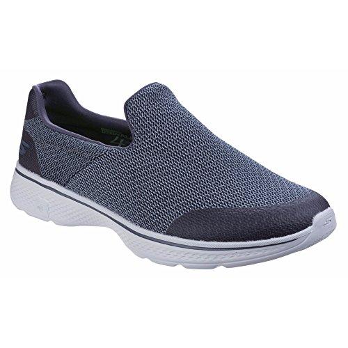 Skechers Go Walk 4 Expert - Chaussures sans Lacets - Homme Noir