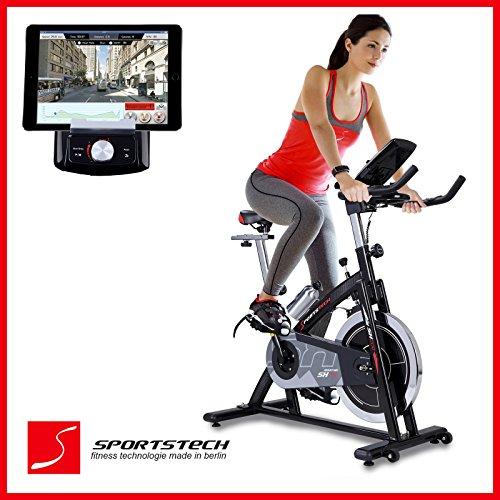 sportstech-cycle-interieur-sx200-professionnelle-avec-controle-de-lapplication-smartphone-google-str