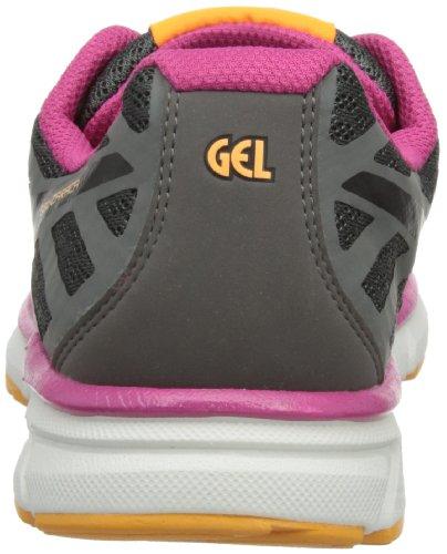 4Digital Media Asia - Gel-Zaraca 2 W, Scarpe Da Corsa da donna grigio (Charcoal Grey/Black/Neon Pink)