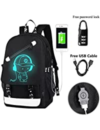 Kraptick Anti Theft Mens Backpack Backpacks BackPack for men Mens womens  BackPack with USB Charging Port 8747cfb4cb