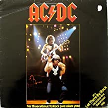 "FOR THOSE ABOUT TO ROCK/LET THERE BE ROCK VINYL 12"" 1982 AC/DC"