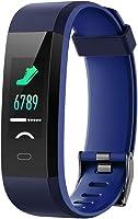 Willful Pulsera Actividad, Pulsera Actividad Inteligente Pantalla Color Reloj con Pulsómetro Impermeable IP68 Podómetro...