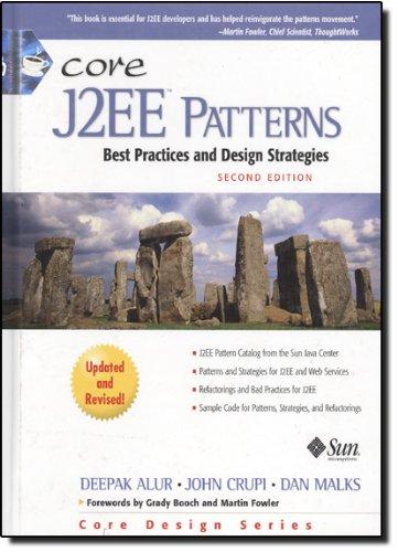 Core J2EE Patterns: Best Practices and Design Strategies (Core Design Series) por Deepak Alur