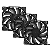 upHere 120mm Silent Fan for Computer Cases, CPU Coolers, and Radiators Ultra Quiet