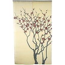 Derecha) japonés Noren cortina cortinas de puerta delantera
