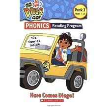 Here Comes Diego!: Pack 1: Books 7-12 (Go, Diego, Go! Phonics Reading Program)