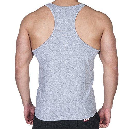 SMILODOX Camouflage Tank Top Herren | Muskelshirt ideal für Sport Gym Fitness & Bodybuilding | Muscle Shirt - Stringer - Tanktop - Unterhemd - Achselshirt Rot Camo