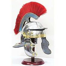 Shiv Shakti Enterprises Medieval Roman Centurion Gallic Helmet Spartan Greek Knight Sugarloaf Crusader by Shiv Shakti