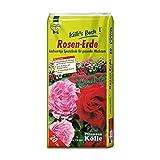 Rosenerde 20 Liter – Blumenerde für Rosen – Spezialerde für Kletterrosen, Strauch- und Beetrosen und Hochstammrosen – Gärtnerqualität von Kölle's Beste