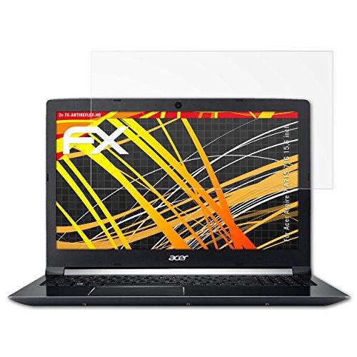 atFolix Schutzfolie kompatibel mit Acer Aspire 7 A715-71G 15,6 inch Bildschirmschutzfolie, HD-Entspiegelung FX Folie (2X)