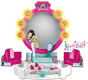 Theo Klein- Barbie Salón De Belleza con Accesorios, Luz Y Sonido, Juguete, (5328)