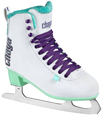 chaya Damen Classic White Schlittschuhe, Weiß, 42