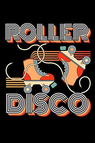 Roller Disco: 120 Seiten (6x9 Zoll) Punktraster Notizbuch für 90er Party Freunde I Rollschuhe Dot Grid Pünktchen Schreibheft I Roller Skates Tagebuch ... Seiten I 80er Party Notizheft Punktkariert