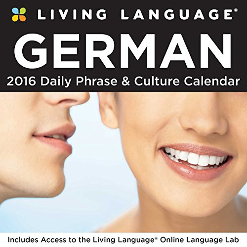 Living Language German Day-To-Day Calendar