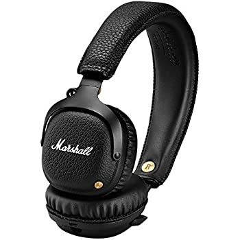 marshall mid casque audio bluetooth noir. Black Bedroom Furniture Sets. Home Design Ideas
