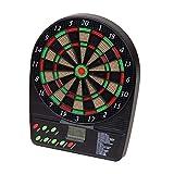 LIOOBO Target elettronico di tabellone per Cricket Schermo LCD Bersaglio Testato duri segmenti (Colore Casuale)