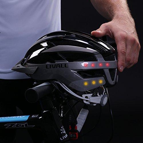 Livall MT1 Fahrradhelm Rot / Schwarz – MTB Helm - 3