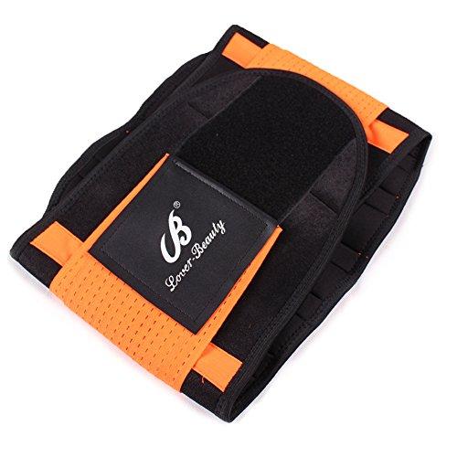 Lover-Beauty-Cintura da allenamento, da donna, vita Body Shaper Hourglass Shaper per cintura Arancione