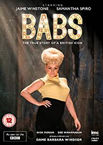 Babs The True Story Of A British Icon Barbara Windsor Bbc1 Drama Dvd Amazon Co Uk Jaime Winstone Samantha Spiro Nick Moran Zoe Wannamaker Barbara Windsor Cameo Dominic Leclerc Jaime Winstone Samantha Spiro