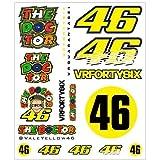 VR46 Pegatinas Grandes de Valentino Rossi, Oficiales