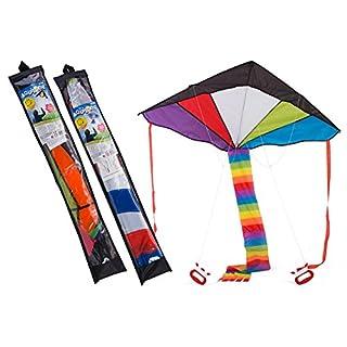 Globo Toys Globo–367263Verschiedene Sommer Kite mit 2-Handles
