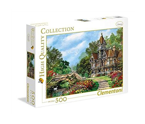 Clementoni 35048 - Puzzle Old Waterway Cottage